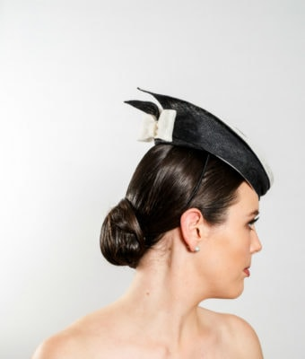 black-sinamay-cocktail-hat-with-black-and-white-sinamay-trim-and-bow-2